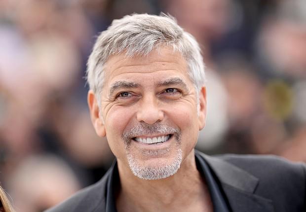 O ator norte-americano George Clooney durante o lançamento de Money Ball no Festival de Cannes (Foto: Pascal Le Segretain/Getty Images)