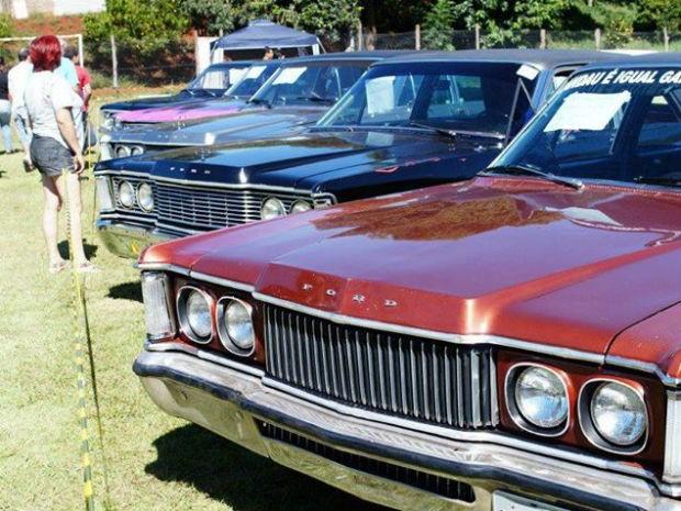 Cerca de 200 carros antigos estarão expostos na festa (Foto: Vanderlei Morais/ Arquivo pessoal)