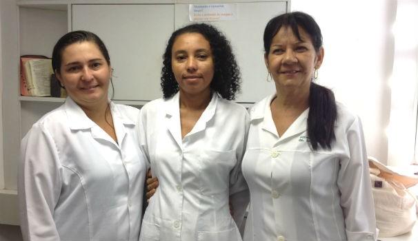Corpo técnico da Secretaria Municipal de Saúde de Maceió (Foto: Divulgação/Marketing OAM)
