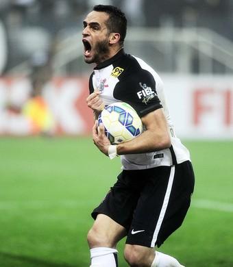 Corinthians x Grêmio Renato Augusto (Foto: Marcos Ribolli)