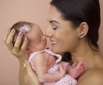 Mônica Carvalho com a filha Valentina | Gisele Fap