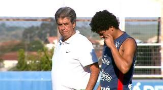 Luiz Carlos Ferreira, Ferreirão, técnico da Matonense (Foto: Ely Venâncio / EPTV)