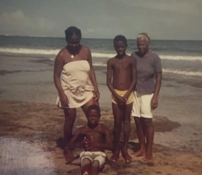 Érico Brás e a família (Foto: Arquivo Pessoal)