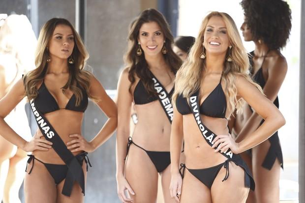 Candidatas a Miss São Paulo (Foto: Rafael Cusato/Brazil News)
