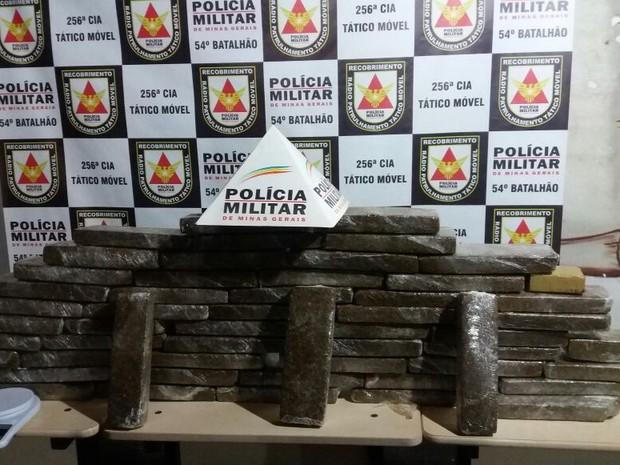 tráfico de drogas Ituiutaba  (Foto: Polícia Militar/Divulgação)