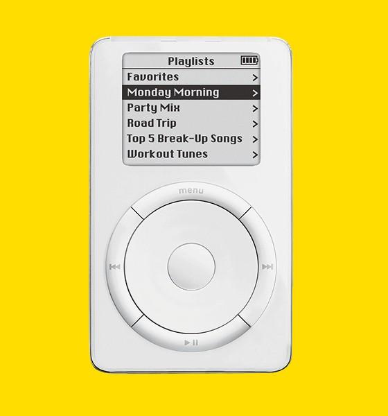 Ipod apple 2001 (Foto: Ed. Globo)