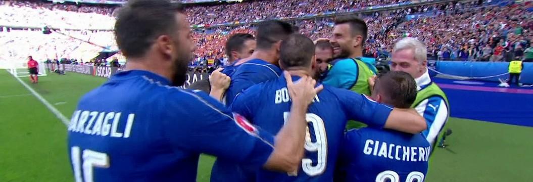 Veja os gols da vitória da Itália sobre a Espanha na Eurocopa d8b6684b4e4e1