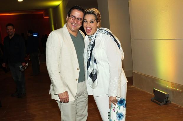 Suzy Rego e o marido (Foto: Manuela Scarpa e Marcos Ribas / Foto Rio News)