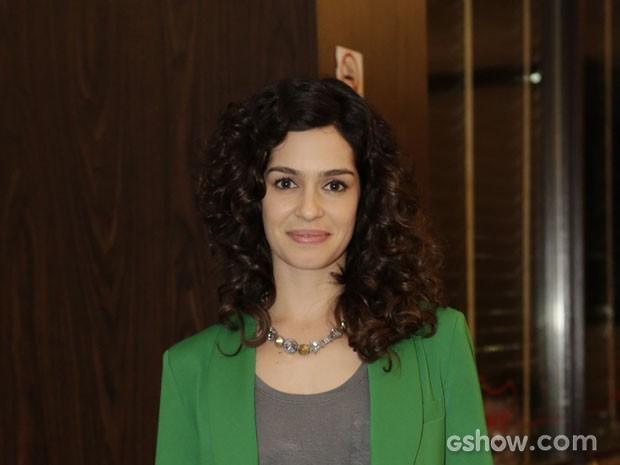 Maria Flor (Foto: Fábio Rocha / TV Globo)