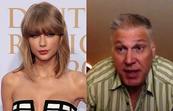 Taylor Swift e David Mueller (Foto: Getty Images / Reprodução)