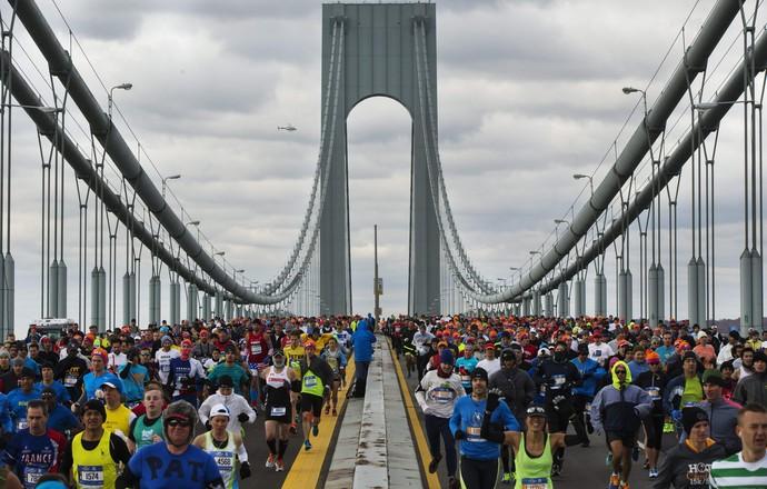Maratona de Nova York  (Foto: Reuters)
