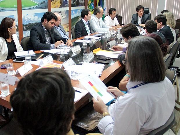 Gabinete de Gestão Integrada de Recursos Hídricos irá se reunir semanalmente (Foto: Rayane Mainara)