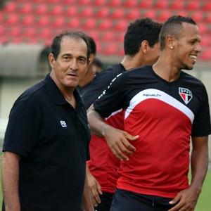 Muricy Ramalho Luis Fabiano São Paulo (Foto: site oficial / saopaulofc.net)