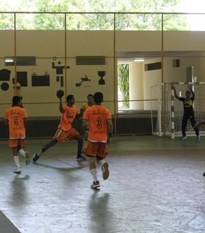 Caic balduíno, final Copa Nordeste (Foto: Abdias Bideh/GloboEsporte.com)