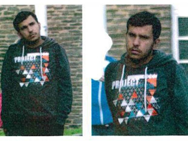 Foto divulgada pela polícia mostra sírio de 22 anos, Jaber Albakr, que está sendo buscado pelas autoridades; operação foi feita a partir de informação de que alguém estava preparando um ataque a bomba  (Foto: Police Sachsen via AP)