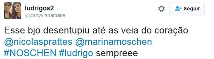 Internauta comemora beijo de Ludrigo em Malhação (Foto: Reprodução)