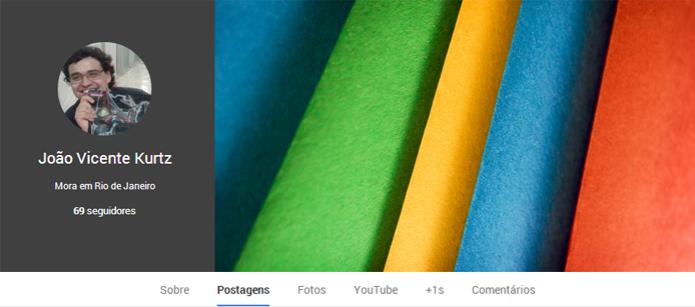 Removendo o número de visualizações do perfil do Google+ (foto: Reprodução/João Kurtz) (Foto: Removendo o número de visualizações do perfil do Google+ (foto: Reprodução/João Kurtz))