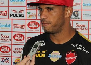 Robston está focado no próximo jogo do Tigrão (Foto: Fernando Vasconcelos / Globoesporte.com)