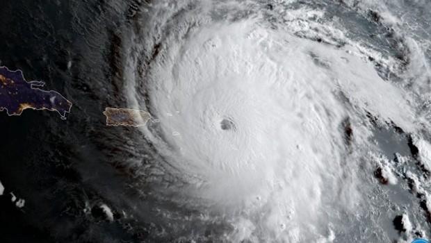 Imagem do Furacão Irma se aproximando do Caribe no dia 6 de setembro de 2017 (Foto: CIRA/Fotos Públicas)