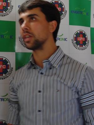 Fred Pacheco fala em recolocar o Tigre em destque no futebol e trilhar caminho vitorioso do clube  (Foto: Wilkson Tarres/Globoesporte)