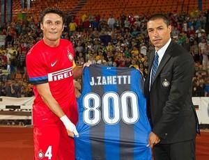 Zanetti, 800 jogos pelo Inter (Foto: Divulgação / Inter.it)