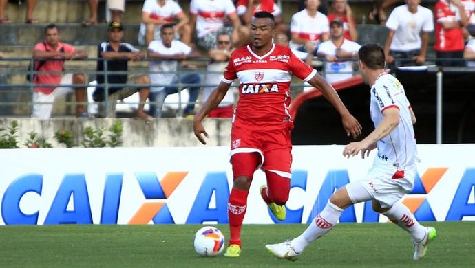 CRB x Mogi Mirim - Artilheiro da Série B, Zé Carlos volta após seis rodadas machucado (Foto: Ailton Cruz/Gazeta de Alagoas)