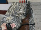 Polícia Militar apreende drogas e espingarda em Mogi das Cruzes
