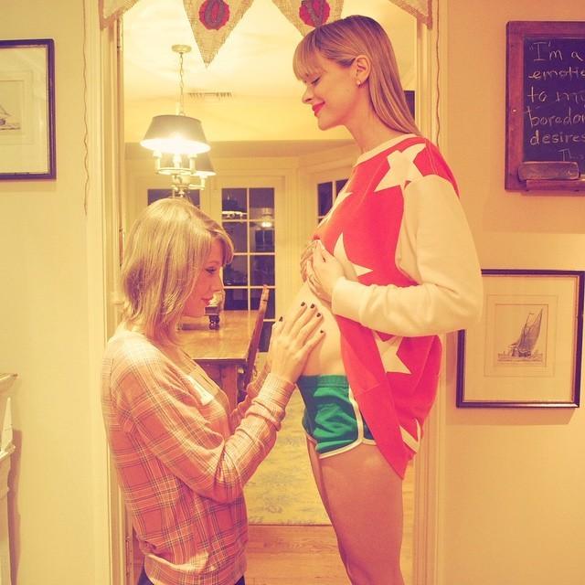 Taylor Swift e Jamie King (Foto: Reprodução/Instagram)