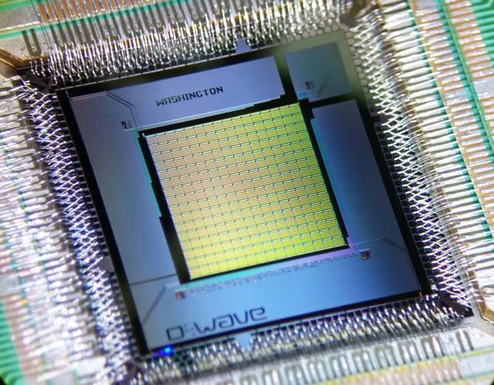 Computador quântico do Google e da Nasa tem desempenho 100 milhões de vezes superior ao de um computador comum (Foto: Divulgação/D-WAVE)