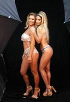 Danielle Winits protagoniza campanha de lingerie com a mãe, Nadja Winits