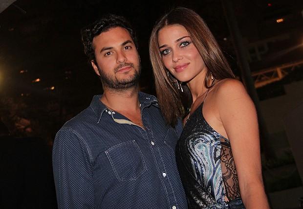 Karim El Chiat e Ana Beatriz Barros (Foto: Milene Barros)