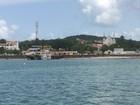 Maré baixa prolongada causa nova suspensão da travessia para ilha