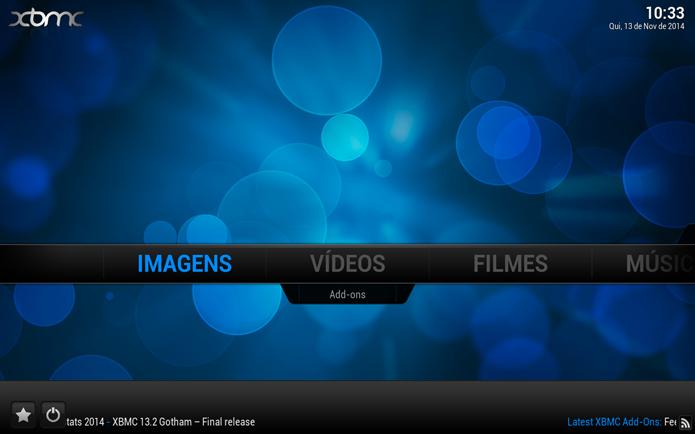 Acessando a opção de Imagens (Foto: Reprodução/André Sugai)