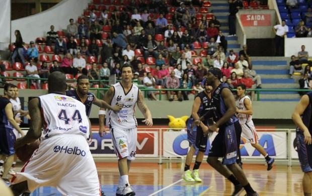 Mogi x Bauru (Foto: Thiago Fidelix / Globoesporte.com)
