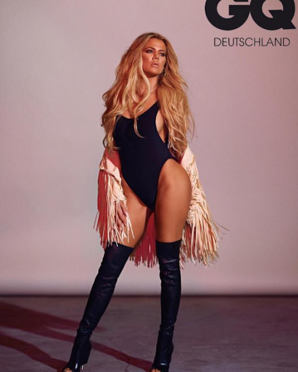 A celebridade Khloé Kardashian (Foto: Instagram)