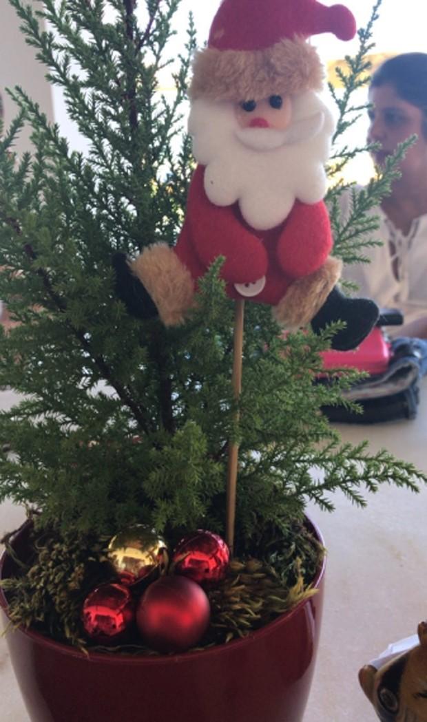 Decoração de Natal da casa de Ivete (Foto: Reprodução/Instagram)