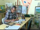 Artista plástico do Recife busca ajuda para participar da Bienal de Florença