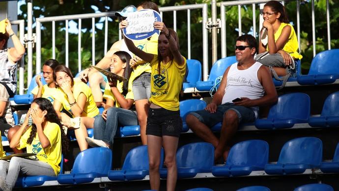Torcida na etapa de Alagoas, Circuito Open (Foto: Jonathan Lins/G1)
