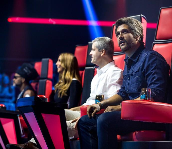 Cada técnico escolherá 24 vozes nas Audições às Cegas (Foto: Isabella Pinheiro/Gshow)