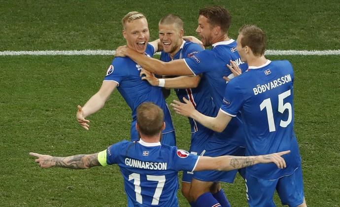 inglaterra islândia eurocopa gol (Foto: Yves Herman / Reuters)