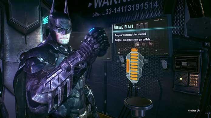 Confira o vídeo para saber como coletar o raio congelante em Arkham Knight (Foto: Reprodução/Felipe Vinha)