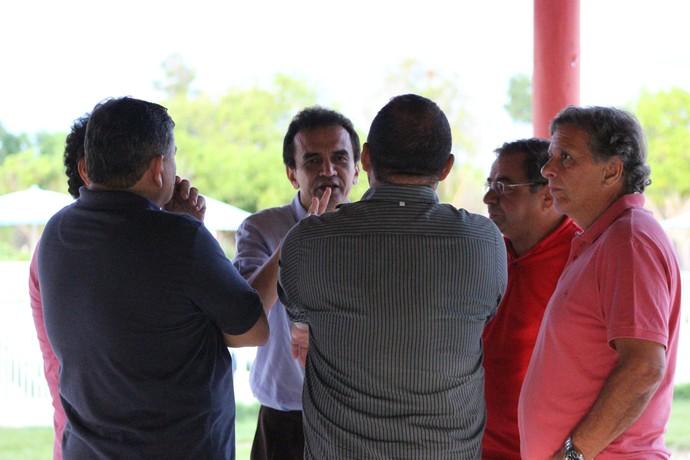 Elizeu Aguiar, presidente do River-PI (Foto: Emanuele Madeira)