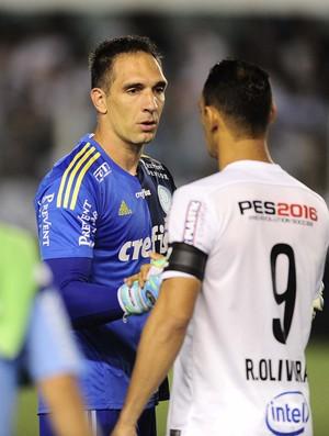 BLOG: Peixe sai na frente, mas Verdão fica no lucro na primeira partida da final da Copa do Brasil