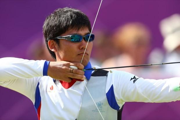 Atleta na Olimpíada de Londres-2012 (Foto: Getty Images)