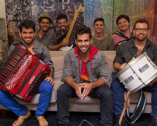 Os Gonzagas (Foto: Fabiano Battaglin/Gshow)