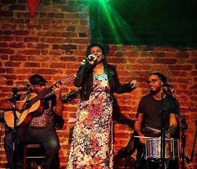 Sylvia Nazareth carreira musical (Foto: Arquivo pessoal)