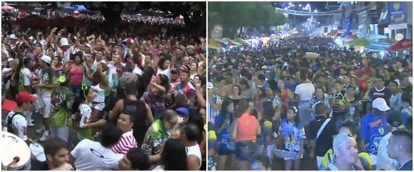 Bandas de rua animam fim de semana em Manaus (Foto: Amazônia TV)