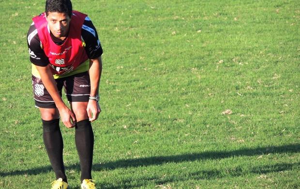 Ricardo Bueno, atacante, figueirense, cft, treino, série b, (Foto: Renan Koerich)