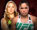 Amanda Nunes fará primeira defesa de cinturão contra Ronda no UFC 207