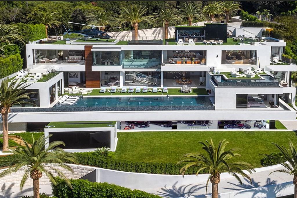 Mansão de R$ 800 milhões nos eUA (Foto: Divulgação)